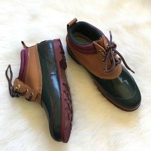 Vintage Colorful Duckie Rain Boots